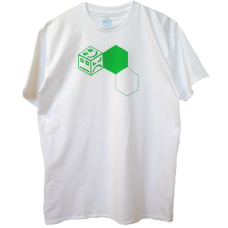 POLY 3 Stack - green/white