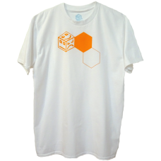 POLY 3 Stack - orange/white