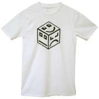 POLY Cube Logo - black/white