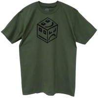 POLY Cube Logo - black/forest