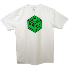 POLY Cube Logo - Green Black/White