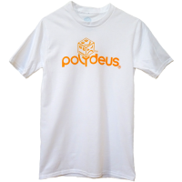 POLY LOGO - Orange/White