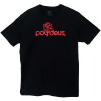 POLY LOGO - Red/Black