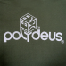 POLY LOGO - White/Forest